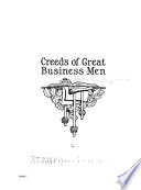 Creeds of Great Business Men