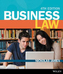 Cover of Business Law 4E (Black and White) Open Book Exam Companion