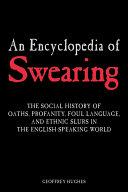 Pdf An Encyclopedia of Swearing Telecharger