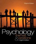 Psychology  Themes and Variations Book