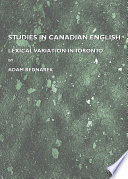 Studies in Canadian English