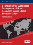 E innovation for Sustainable Development of Rural Resources During Global Economic Crisis
