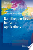 Nanotheranostics For Cancer Applications Book PDF