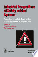 Industrial Perspectives of Safety critical Systems Book