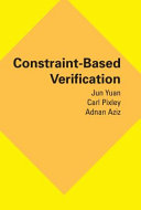 Constraint-Based Verification Pdf/ePub eBook