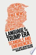 Language in the Trump Era