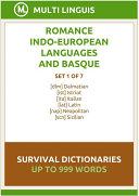Romance Languages and Basque Language Survival Dictionaries (Set 1 of 7) [Pdf/ePub] eBook