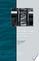 Advances in Cement Based Materials