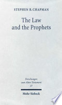 The Law and the Prophets Book PDF