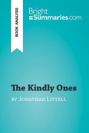 The Kindly Ones by Jonathan Littell  Book Analysis