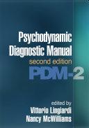 Pdf Psychodynamic Diagnostic Manual, Second Edition Telecharger