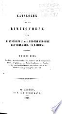 Catalogus van de bibliotheek