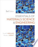 Essentials Of Materials Science And Engineering Book PDF
