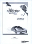 TIME For Kids Nonfiction Readers  Challenging Plus Teacher s Guide