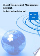 Global Business and Management Research  An International Journal Vol 1 No  2