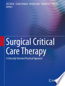 Surgical Critical Care Therapy Book PDF