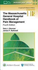 Massachusetts General Hospital Handbook Of Pain Management Book PDF