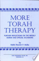 More Torah Therapy Book