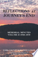 Reflections At Journey S End
