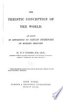The Theistic Conception of the World Book