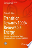 Transition Towards 100% Renewable Energy