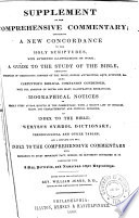 Supplement to The Comprehensive Commentary