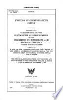Freedom of Communications