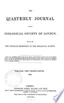 The Quarterly Journal of the Geological Society of London Book