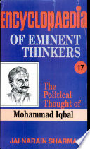 Encyclopaedia Eminent Thinkers (vol. : 17 The Political Thought Of Mohammad Iqbal)