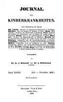 Journal für Kinderkrankheiten