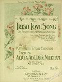 Irish Love Song
