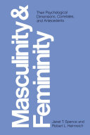 Masculinity and Femininity [Pdf/ePub] eBook