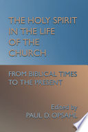 Read Online The Holy Spirit in the Life of the Church For Free