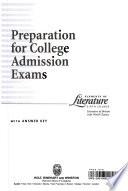 Prep for College Adm Exam Eol 2000 G 12