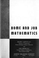 Home and Job Mathematics