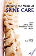 Defining the Value of Spine Care