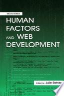 Human Factors And Web Development