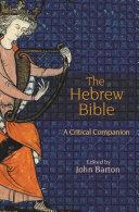 The Hebrew Bible Pdf/ePub eBook