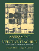 Assessment for Effective Teaching