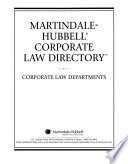 Martindale-Hubbell corporate law directory