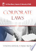 Corporate Law (For B.Com, Sem.2, Delhi University)