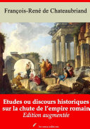 Pdf Etudes ou discours historiques sur la chute de l'empire romain Telecharger