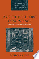 Aristotle s Theory of Substance