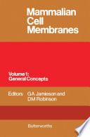 Mammalian Cell Membranes Book
