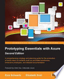 Prototyping Essentials With Axure Book PDF