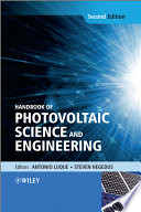 Handbook Of Photovoltaic Science And Engineering Book PDF