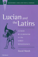 Pdf Lucian and the Latins