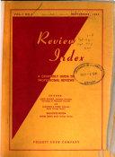 Review Index Book PDF