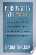 Personality Type Book