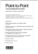 Point to point Communication Book